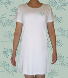 Chemise de nuit olivier